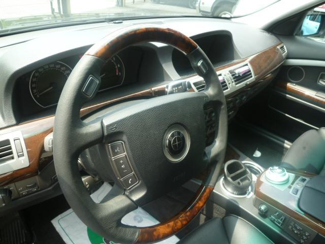 E65 ハンドル